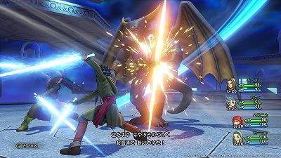 <a href=dq11_renkei005.html>はやぶさのまい</a>で空を舞うはやぶさのごとく超高速で敵に攻撃