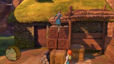 イシの村で主人公の後を付いてくるエマ