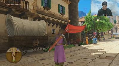 デルカダール城下町を試遊