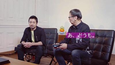 ドラクエ11堀井さんと山田さんの「あ、どうも」のあいさつで開始