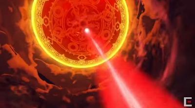 ドラクエ11テレビCM天に突き刺す光