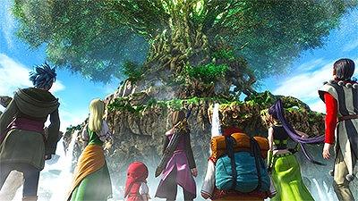 命の大樹のふもとに集結する主人公たち7人の仲間